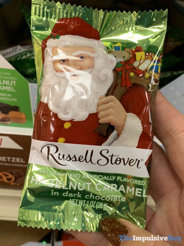 Russell Stover Hazelnut Caramel in Dark Chocolate