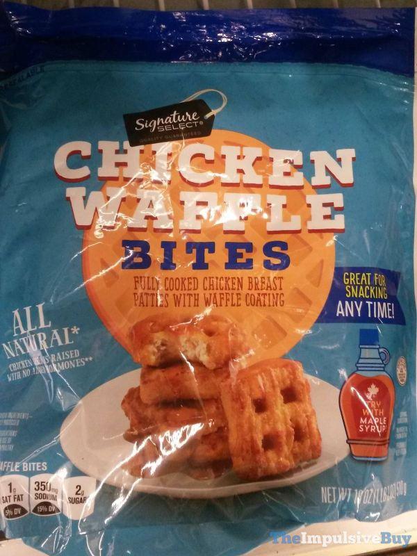 Signature Select Chicken Waffle Bites