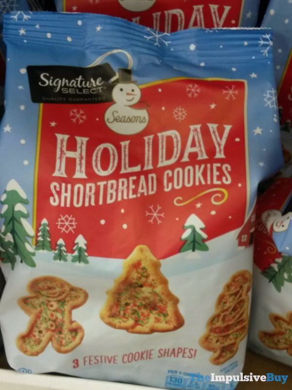 Signature Select Seasons Holiday Shortbread Cookies
