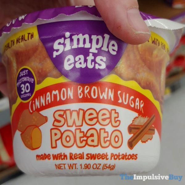 Simple Eats Cinnamon Brown Sugar Sweet Potato
