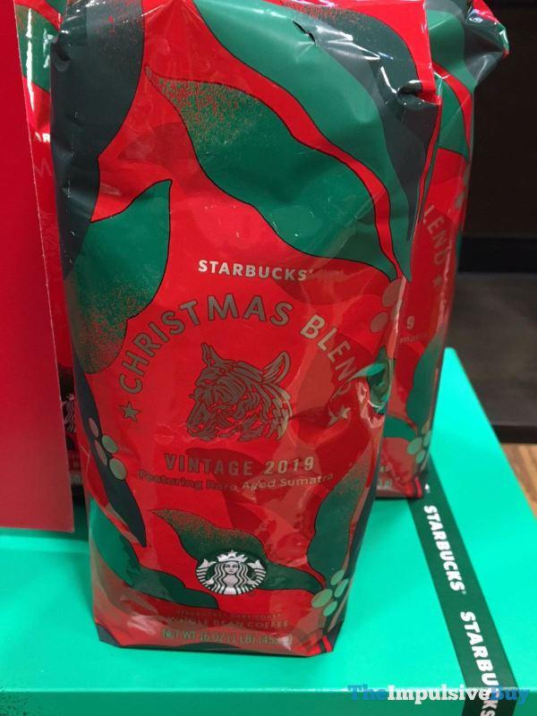 Starbucks Christmas Blend Vintage 2019