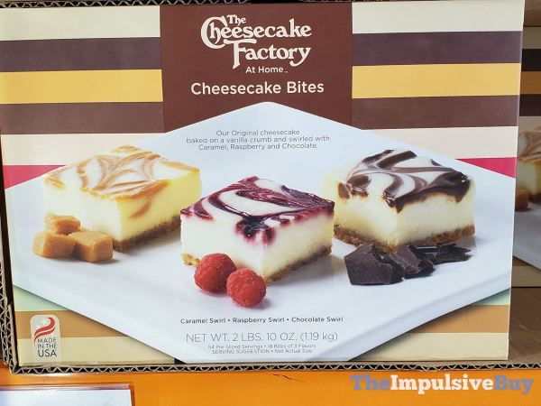 The Cheesecake Factory at Home Cheesecake Bites
