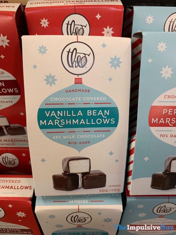 Theo Chocolate Covered Vanilla Bean Marshmallows
