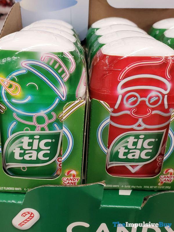 Tic Tac Candy Cane 2019 Design