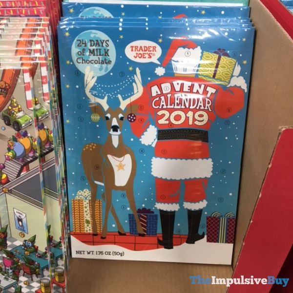 Trader Joe s 24 Days of Milk Chocolate Advent Calendar 2019