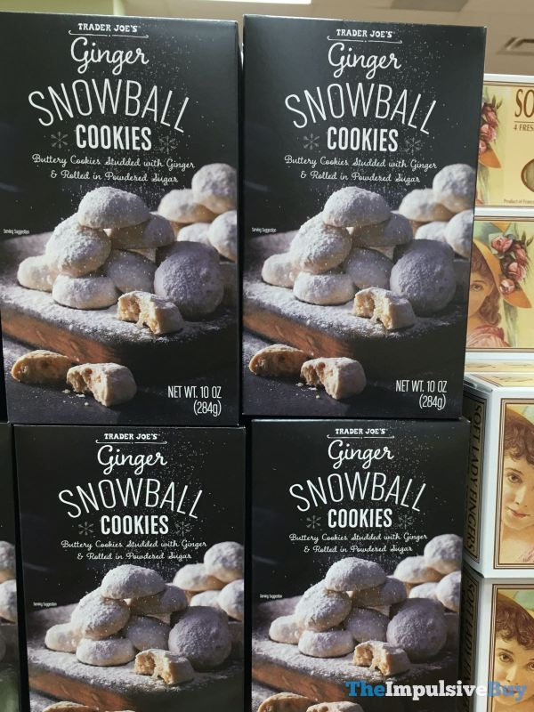 Trader Joe s Ginger Snowball Cookies