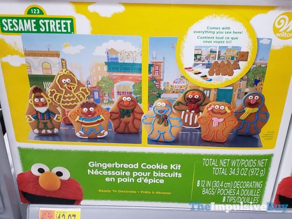Wilton Sesame Street Gingerbread Cookie Kit