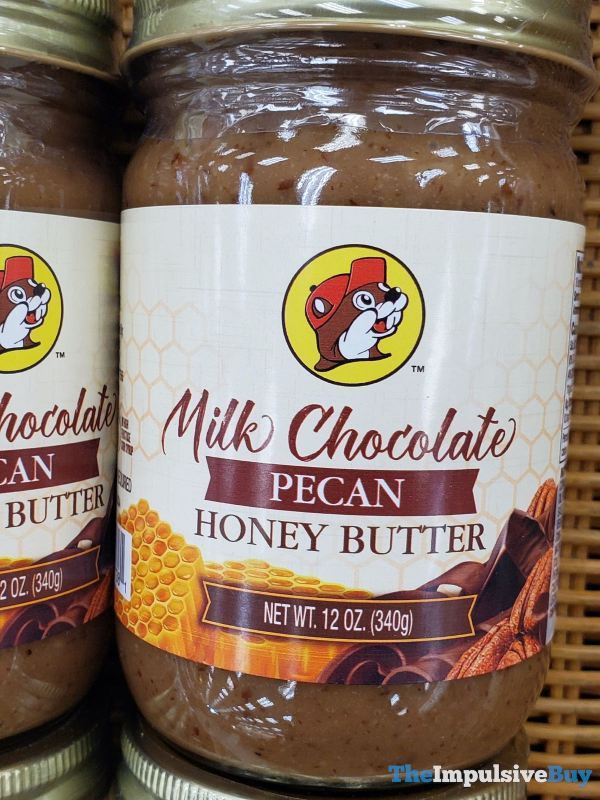 Buc ee s Milk Chocolate Pecan Honey Butter