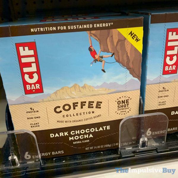 Clif Bar Coffee Collection Dark Chocolate Mocha