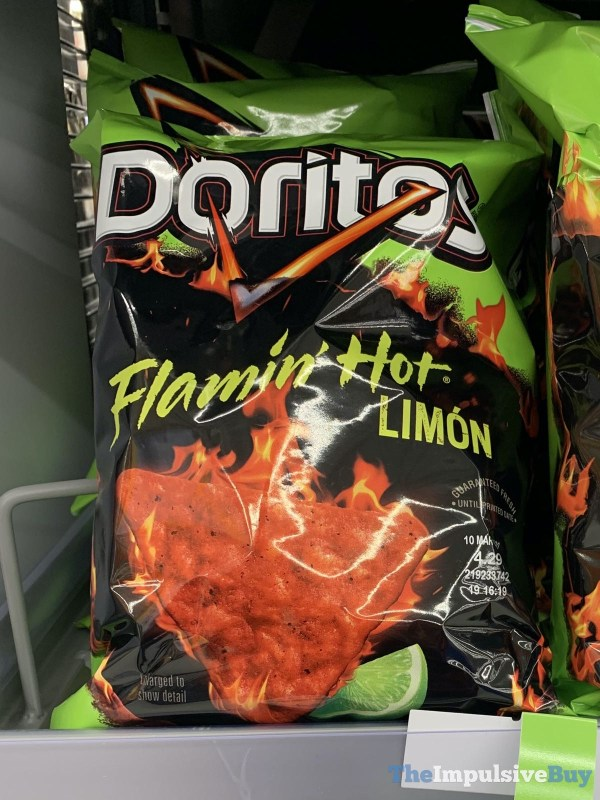 Doritos Flamin Hot Limon