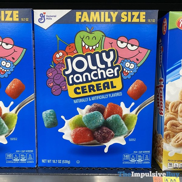 General Mills Jolly Rancher Cereal