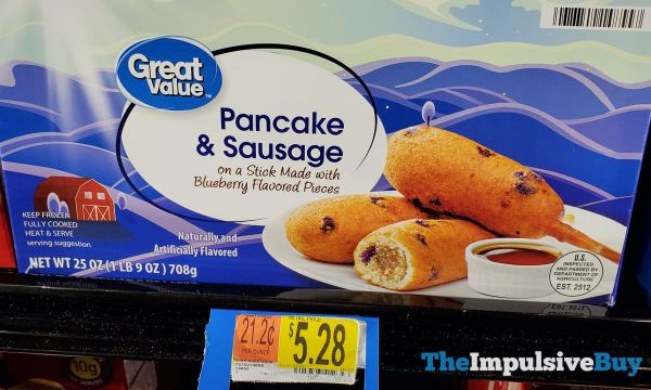 Great Value Pancake  Sausage