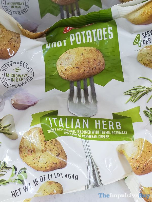 H E B Italian Herb Baby Potatoes