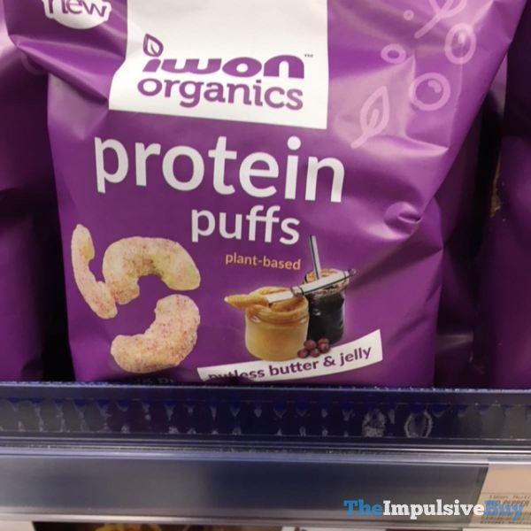 Iwon Organics Nutless Butter  Jelly Protein Puffs