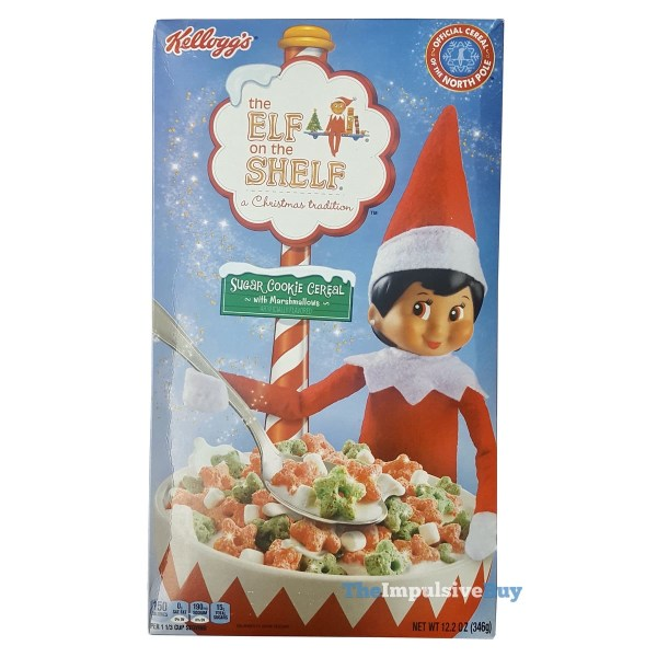 Kellogg s The Elf on the Shelf Sugar Cookie Cereal