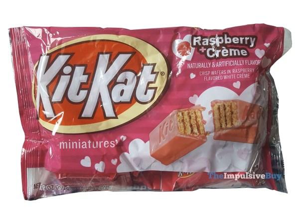 Kit Kat Raspberry + Creme