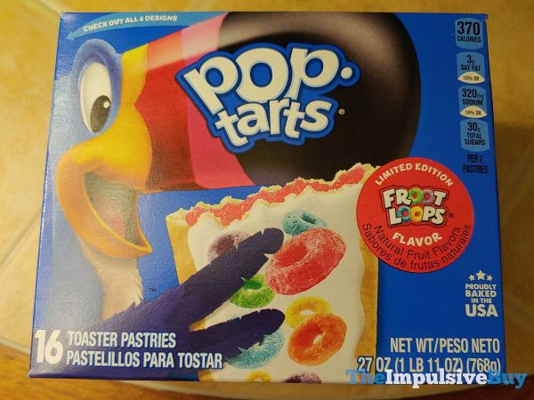 Limited Edition Froot Loops Pop Tarts