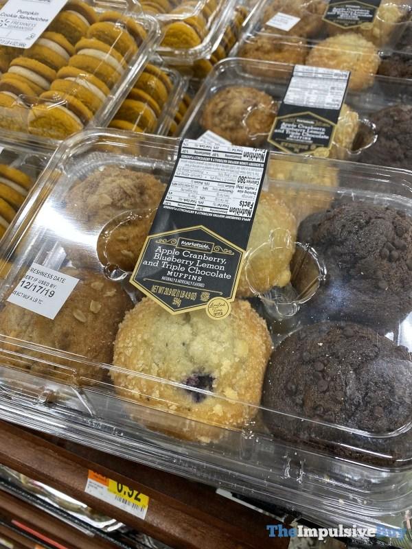 Marketside Apple Cranberry Blueberry Lemon and Triple Chocolate Muffins