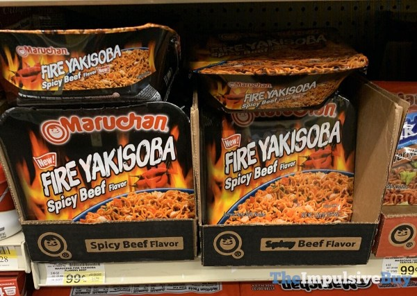 Maruchan Fire Yakisoba Spicy Beef Flavor