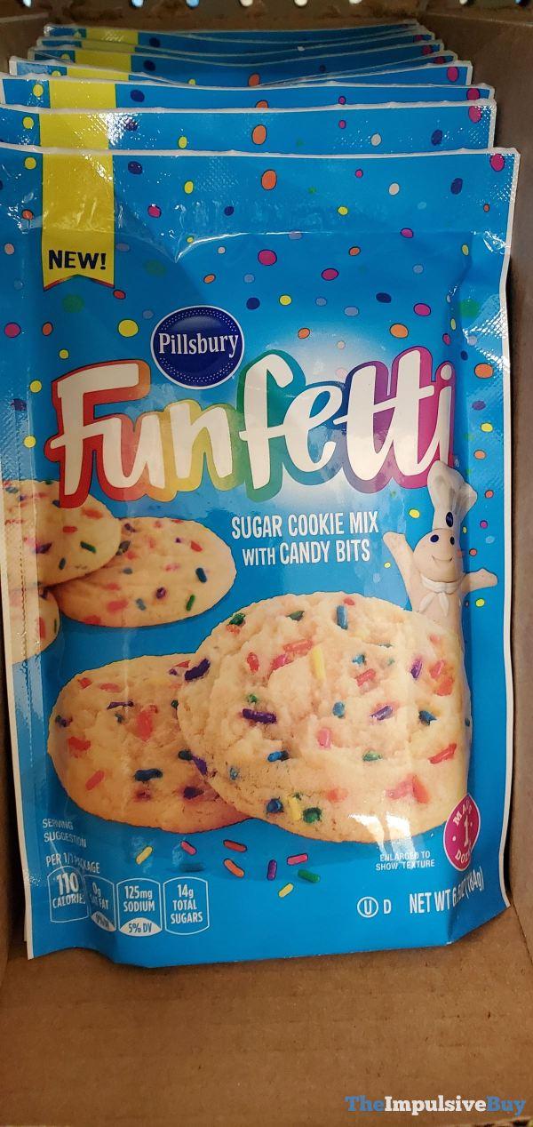Pillsbury Funfetti Sugar Cookie Mix with Candy Bits