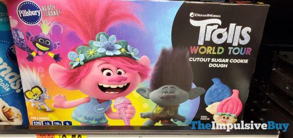 Pillsbury Trolls World Tour Cutout Sugar Cookie Dough