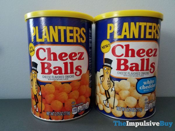 Planters White Cheddar Cheez Balls with Original
