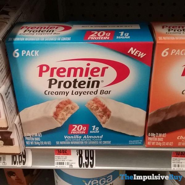Premier Protein Vanilla Almond Creamy Layered Bar