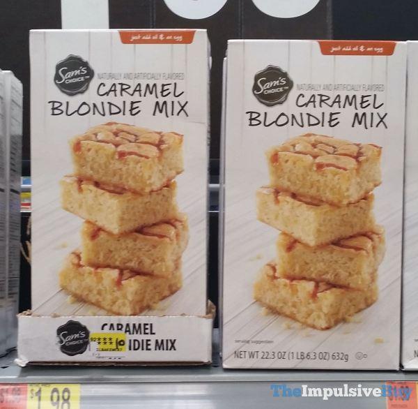 Sam s Choice Caramel Blondie Mix