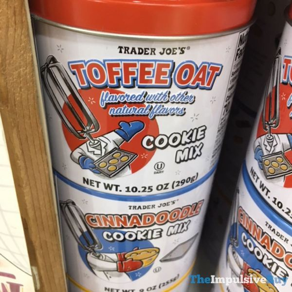 Trader Joe s Toffee Oat Cookie Mix
