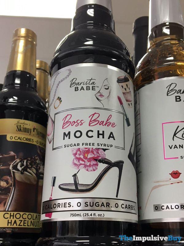 Barista Babe Boss Babe Mocha Sugar Free Syrup