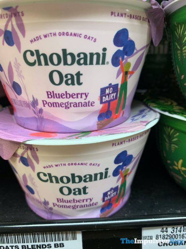 Chobani Oat Blueberry Pomegranate