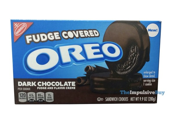 Dark Chocolate Fudge Covered Oreo Cookies