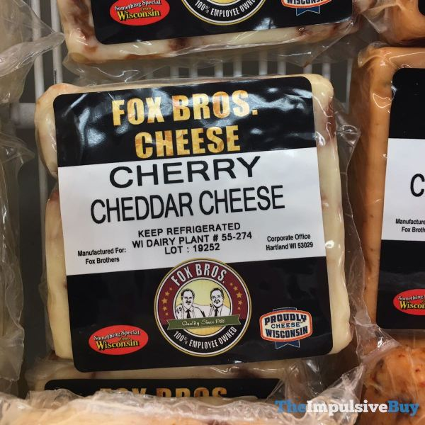 Fox Bros Cheese Cherry Cheddar Cheese