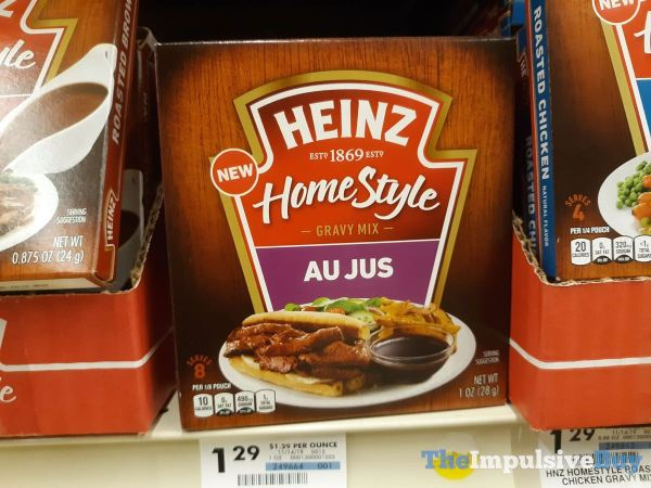 Heinz Homestyle Gravy Mix Au Just Pouch