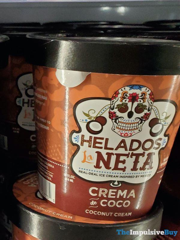 Helados La Neta Crema de Coco Ice Cream
