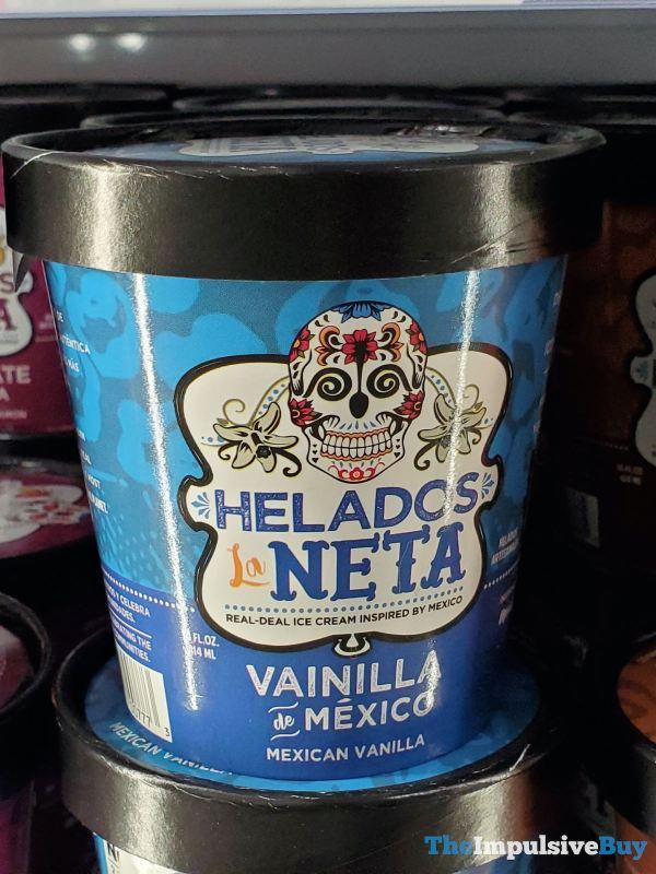 Helados La Neta Vainilla de Mexico Ice Cream