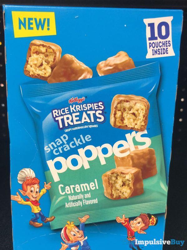 Kellogg s Rice Krispies Treats Caramel Poppers