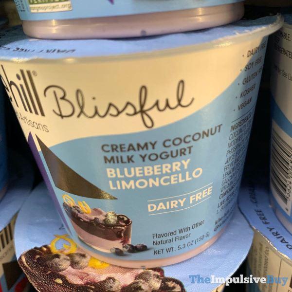 Kite Hill Blissful Blueberry Limoncello Coconut Milk Yogurt
