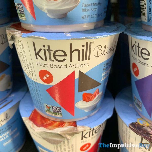 Kite Hill Blissful Strawberries and Cream Coconut Milk Yogurt