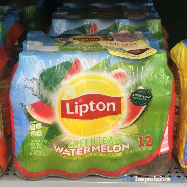 Lipton Watermelon Green Tea