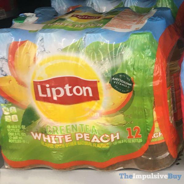 Lipton White Peach Green Tea