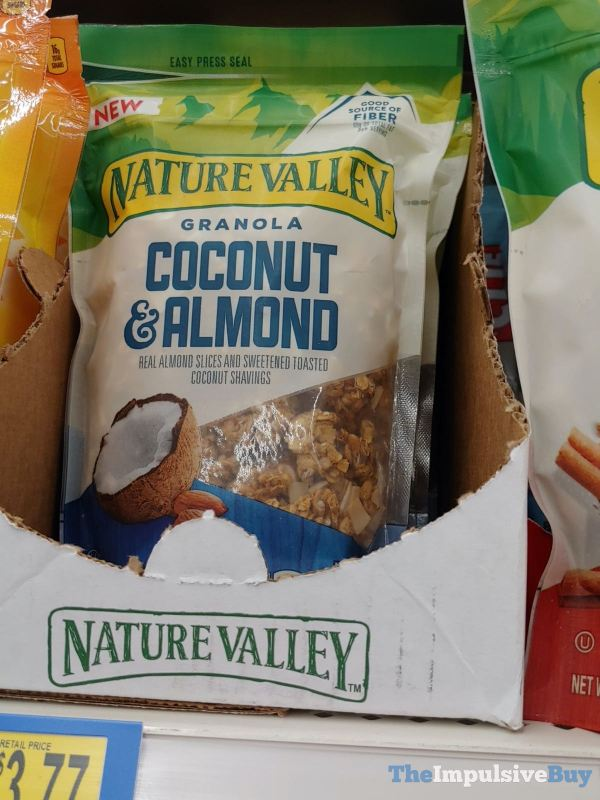 Nature Valley Coconut  Almond Granola