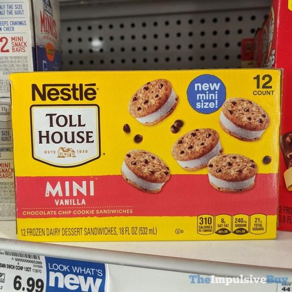 Nestle Toll House Mini Vanilla Chocolate Chip Cookie Sandwiches