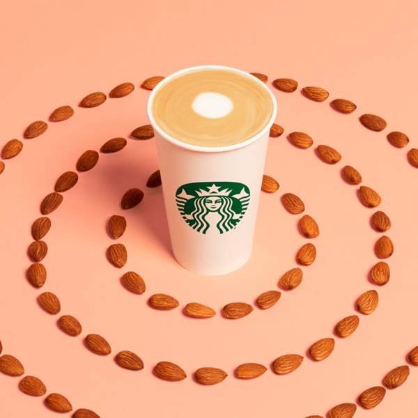 News Almondmilk Honey Latte