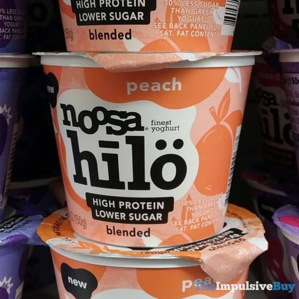 Noosa Hilo Peach Yoghurt