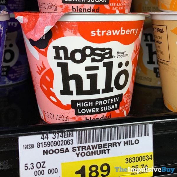 Noosa Hilo Strawberry Yoghurt
