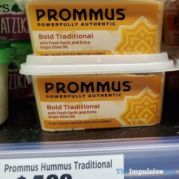 Prommus Bold Traditional Hummus