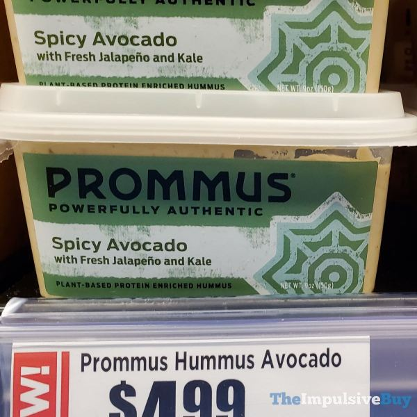 Prommus Spicy Avocado Hummus