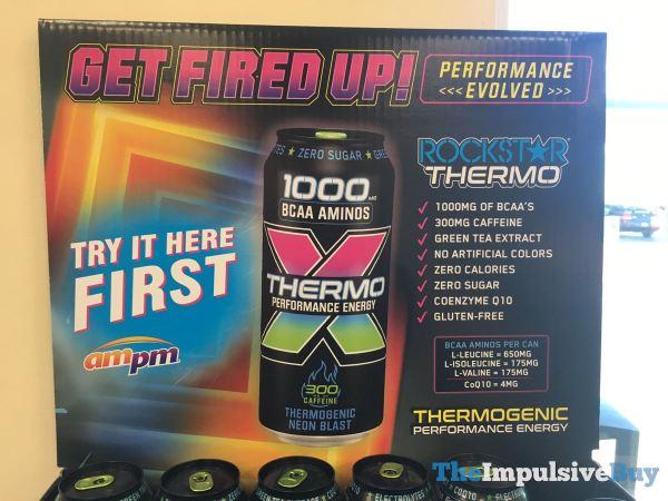 Rockstar Thermo Neon Blast Ad