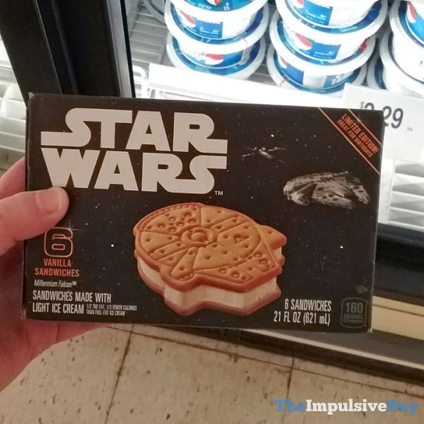 Star Wars Millennium Falcon Ice Cream Sandwiches 2